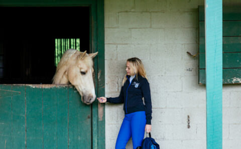 Brandi Cyrus featured in The Plaid Horse Magazine - Photography by Tausha Dickinson